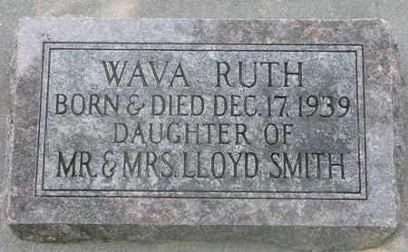 SMITH, WAVA RUTH - Bon Homme County, South Dakota   WAVA RUTH SMITH - South Dakota Gravestone Photos