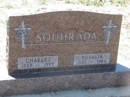 SOUHRADA, CHARLES - Bon Homme County, South Dakota | CHARLES SOUHRADA - South Dakota Gravestone Photos