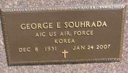 SOUHRADA, GEORGE E. (MILITARY) - Bon Homme County, South Dakota | GEORGE E. (MILITARY) SOUHRADA - South Dakota Gravestone Photos