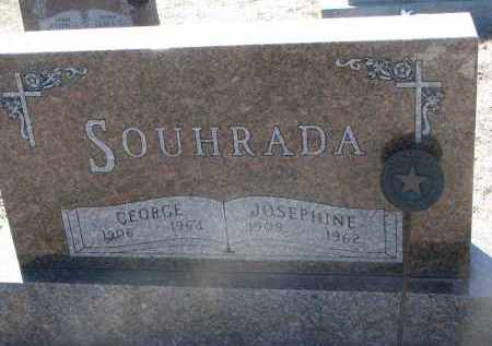 SOUHRADA, GEORGE - Bon Homme County, South Dakota | GEORGE SOUHRADA - South Dakota Gravestone Photos