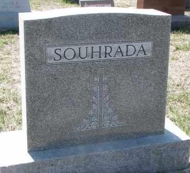 SOUHRADA, PLOT STONE - Bon Homme County, South Dakota | PLOT STONE SOUHRADA - South Dakota Gravestone Photos
