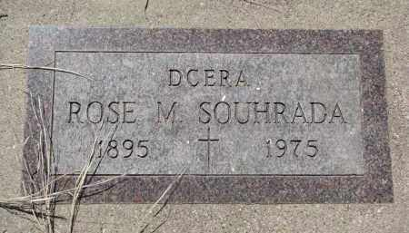 SOUHRADA, ROSE M. - Bon Homme County, South Dakota   ROSE M. SOUHRADA - South Dakota Gravestone Photos
