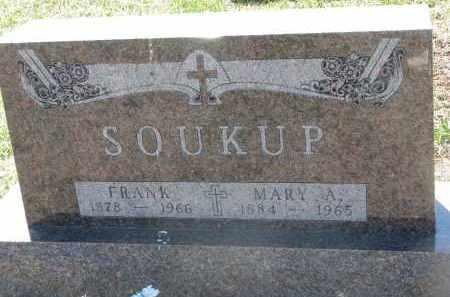 SOUKUP, FRANK - Bon Homme County, South Dakota | FRANK SOUKUP - South Dakota Gravestone Photos
