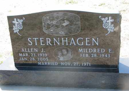 STERNHAGEN, ALLEN J. - Bon Homme County, South Dakota | ALLEN J. STERNHAGEN - South Dakota Gravestone Photos