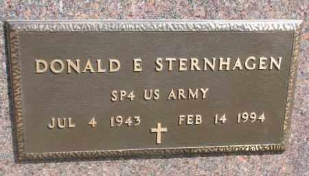 STERNHAGEN, DONALD E. - Bon Homme County, South Dakota | DONALD E. STERNHAGEN - South Dakota Gravestone Photos