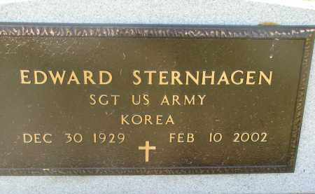STERNHAGEN, EDWARD (MILITARY) - Bon Homme County, South Dakota   EDWARD (MILITARY) STERNHAGEN - South Dakota Gravestone Photos