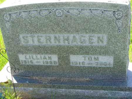 STERNHAGEN, LILLIAN - Bon Homme County, South Dakota | LILLIAN STERNHAGEN - South Dakota Gravestone Photos