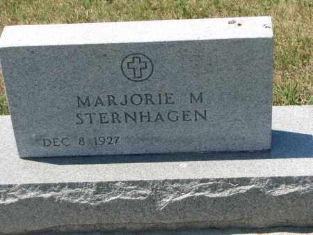 STERNHAGEN, MARJORIE M. - Bon Homme County, South Dakota   MARJORIE M. STERNHAGEN - South Dakota Gravestone Photos
