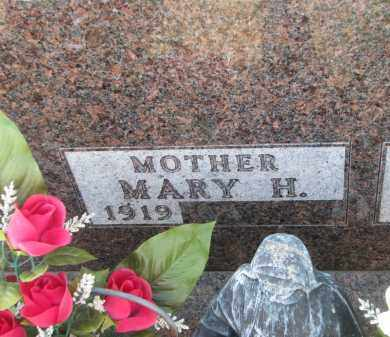 STERNHAGEN, MARY H. (CLOSEUP) - Bon Homme County, South Dakota | MARY H. (CLOSEUP) STERNHAGEN - South Dakota Gravestone Photos