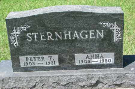 STERNHAGEN, ANNA - Bon Homme County, South Dakota | ANNA STERNHAGEN - South Dakota Gravestone Photos