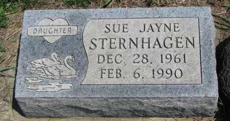 STERNHAGEN, SUE JAYNE - Bon Homme County, South Dakota | SUE JAYNE STERNHAGEN - South Dakota Gravestone Photos