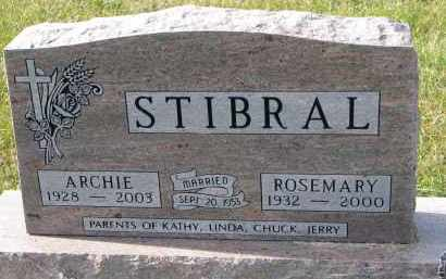 STIBRAL, ARCHIE - Bon Homme County, South Dakota | ARCHIE STIBRAL - South Dakota Gravestone Photos