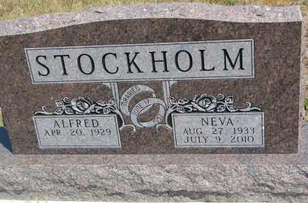 STOCKHOLM, ALFRED - Bon Homme County, South Dakota   ALFRED STOCKHOLM - South Dakota Gravestone Photos