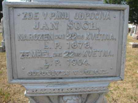 SUCH, JAN (CLOSEUP) - Bon Homme County, South Dakota | JAN (CLOSEUP) SUCH - South Dakota Gravestone Photos