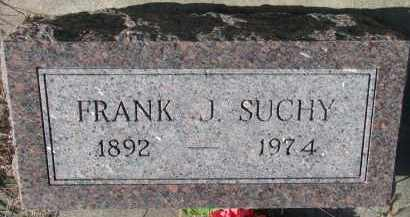 SUCHY, FRANK J. - Bon Homme County, South Dakota   FRANK J. SUCHY - South Dakota Gravestone Photos
