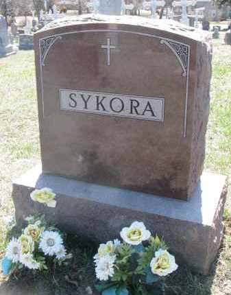 SYKORA, FAMILY STONE - Bon Homme County, South Dakota | FAMILY STONE SYKORA - South Dakota Gravestone Photos