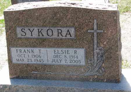 SYKORA, ELSIE R. - Bon Homme County, South Dakota | ELSIE R. SYKORA - South Dakota Gravestone Photos