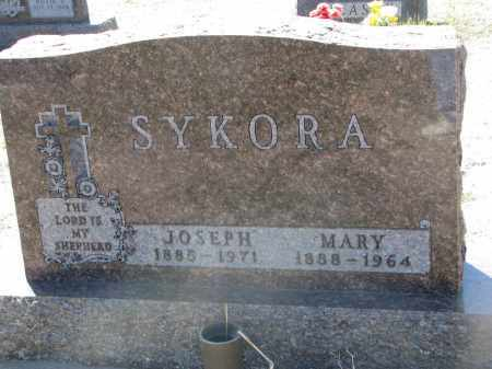 SYKORA, MARY - Bon Homme County, South Dakota | MARY SYKORA - South Dakota Gravestone Photos