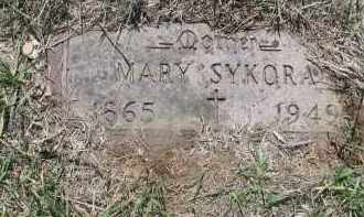 SYKORA, MARY - Bon Homme County, South Dakota   MARY SYKORA - South Dakota Gravestone Photos