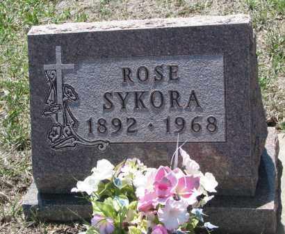 SYKORA, ROSE - Bon Homme County, South Dakota   ROSE SYKORA - South Dakota Gravestone Photos