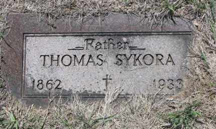 SYKORA, THOMAS - Bon Homme County, South Dakota | THOMAS SYKORA - South Dakota Gravestone Photos