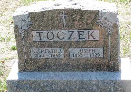 TOCZEK, JOSEPH - Bon Homme County, South Dakota | JOSEPH TOCZEK - South Dakota Gravestone Photos