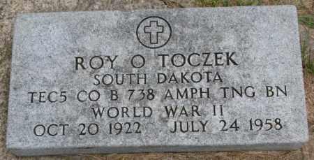 TOCZEK, ROY O. - Bon Homme County, South Dakota   ROY O. TOCZEK - South Dakota Gravestone Photos
