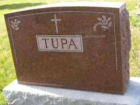 TUPA, FAMILY STONE - Bon Homme County, South Dakota | FAMILY STONE TUPA - South Dakota Gravestone Photos