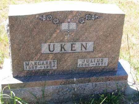 UKEN, JULIUS - Bon Homme County, South Dakota | JULIUS UKEN - South Dakota Gravestone Photos
