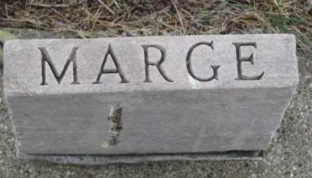 "HALEY, MARGE ""MARGARET"" (FOOTSTONE) - Bon Homme County, South Dakota | MARGE ""MARGARET"" (FOOTSTONE) HALEY - South Dakota Gravestone Photos"