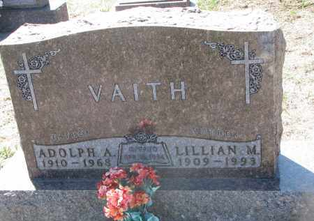 VAITH, ADOLPH A. - Bon Homme County, South Dakota | ADOLPH A. VAITH - South Dakota Gravestone Photos