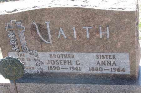 VAITH, JOSEPH G. - Bon Homme County, South Dakota | JOSEPH G. VAITH - South Dakota Gravestone Photos