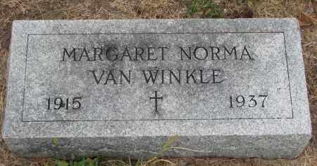 VAN WINKLE, MARGARET NORMA - Bon Homme County, South Dakota | MARGARET NORMA VAN WINKLE - South Dakota Gravestone Photos