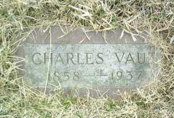 VAUK, CHARLES - Bon Homme County, South Dakota | CHARLES VAUK - South Dakota Gravestone Photos