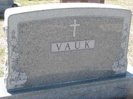 VAUK, FAMILY STONE - Bon Homme County, South Dakota | FAMILY STONE VAUK - South Dakota Gravestone Photos