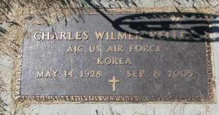 VELLEK, CHARLES WILMER (MILITARY) - Bon Homme County, South Dakota | CHARLES WILMER (MILITARY) VELLEK - South Dakota Gravestone Photos