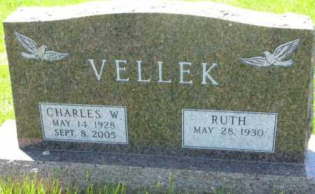 VELLEK, RUTH - Bon Homme County, South Dakota | RUTH VELLEK - South Dakota Gravestone Photos