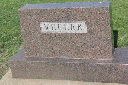 VELLEK, FAMILY STONE - Bon Homme County, South Dakota | FAMILY STONE VELLEK - South Dakota Gravestone Photos