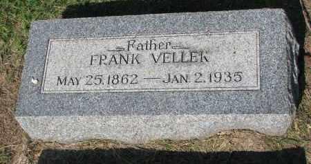 VELLEK, FRANK - Bon Homme County, South Dakota | FRANK VELLEK - South Dakota Gravestone Photos