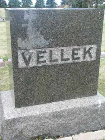 VELLEK, FAMILY STONE - Bon Homme County, South Dakota   FAMILY STONE VELLEK - South Dakota Gravestone Photos