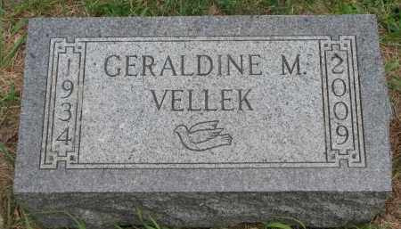 VELLEK, GERALDINE M. - Bon Homme County, South Dakota | GERALDINE M. VELLEK - South Dakota Gravestone Photos