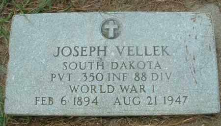 VELLEK, JOSEPH - Bon Homme County, South Dakota | JOSEPH VELLEK - South Dakota Gravestone Photos