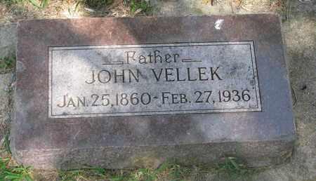 VELLEK, JOHN - Bon Homme County, South Dakota   JOHN VELLEK - South Dakota Gravestone Photos