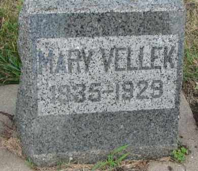 VELLEK, MARY - Bon Homme County, South Dakota   MARY VELLEK - South Dakota Gravestone Photos