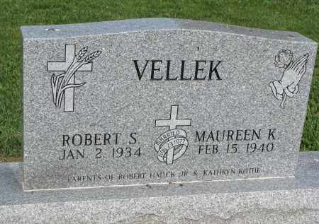 VELLEK, ROBERT S. - Bon Homme County, South Dakota | ROBERT S. VELLEK - South Dakota Gravestone Photos
