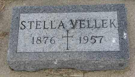 VELLEK, STELLA - Bon Homme County, South Dakota | STELLA VELLEK - South Dakota Gravestone Photos