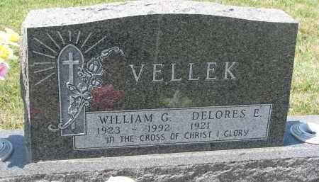 VELLEK, WILLIAM G. - Bon Homme County, South Dakota | WILLIAM G. VELLEK - South Dakota Gravestone Photos