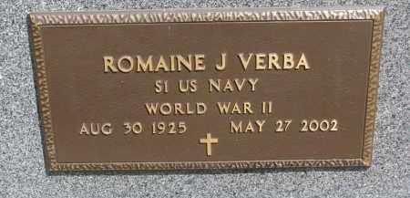 VERBA, ROMAINE J. - Bon Homme County, South Dakota | ROMAINE J. VERBA - South Dakota Gravestone Photos