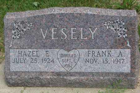 VESELY, HAZEL E. - Bon Homme County, South Dakota | HAZEL E. VESELY - South Dakota Gravestone Photos