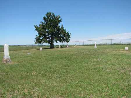 *VIEW FROM GATE, . - Bon Homme County, South Dakota | . *VIEW FROM GATE - South Dakota Gravestone Photos